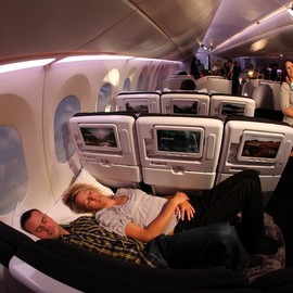 Air New Zealand - Economy Skycouch