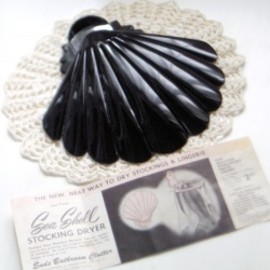 "1940-50's ""Sea Shell"" STOCKING&LINGERIE DRYER【箱付きDEAD-STOCK♡】"