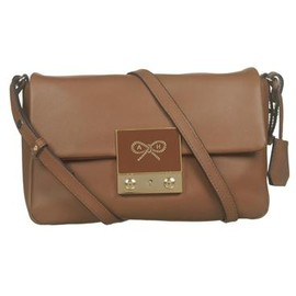 ANYA HINDMARCH - Tiny Tim cross body - Toffee