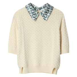 CARVEN - STAMP PRINTED KNIT