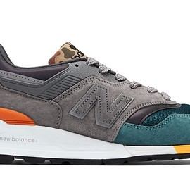"New Balance - 997 Made in US ""Camo Tongue"""