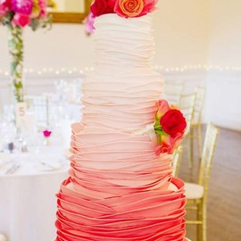 Layered Multi-Tiered Cake