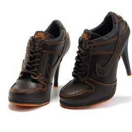 nike - Nike Dunk Low Heels Brown