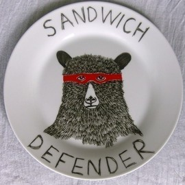 JIMBOBART - The Sandwich Defender Bear