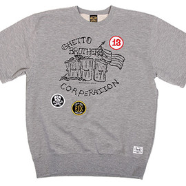 Ghetto Brothers x BBP  Power Fuerza Tee