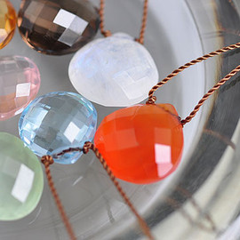 Margaret Solow - Faceted Stone Necklace