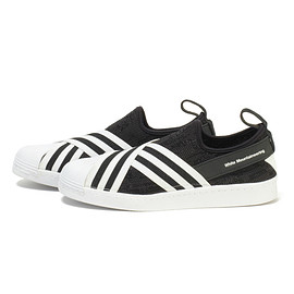 White Mountaineering x Adidas Originals - Superstar Slip On Primeknit
