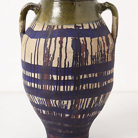 Anthropologie - Dripped Olea Pot