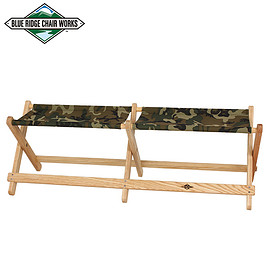 Blue Ridge Chair Works - Voyager Bench CAMO