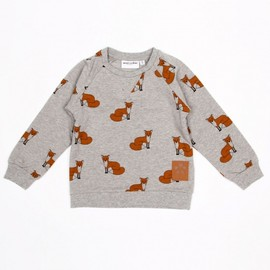 mini rodini - FOX SWEATSHIRT