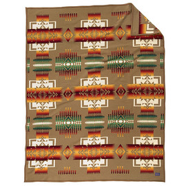 Pendleton - Pendleton Khaki Chief Joseph Blanket (King)