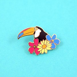 valley cruise press - Toucan Pin by Ted Feighan x Society6