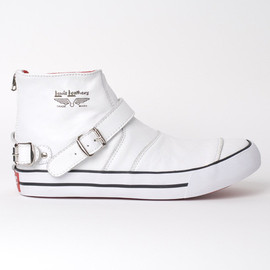 Lewis Leather - Lewis Leather White Road Racer shoes