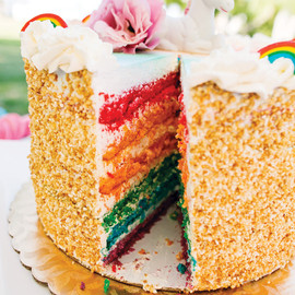 Vibrant Rainbow Unicorn Party {Adult Birthday}
