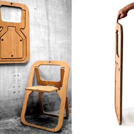 Christian Desile  - desile folding chair
