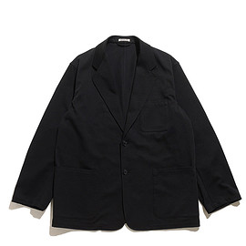AURALEE - Loose Twill Over Jacket-Black