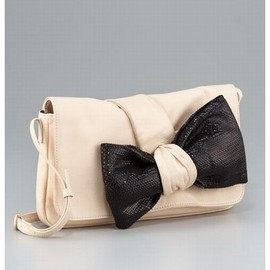 SEE BY CHLOE - Sequined Bow Clutch