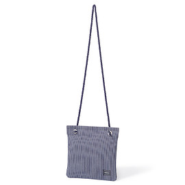 "HEAD PORTER - ""KNOTT'S"" SHOULDER BAG INDIGO"