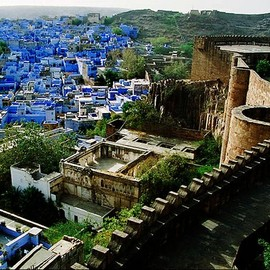 India  - Blue City - Jodhpur