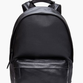 GIVENCHY - BLACK OBSIDIA BACKPACK