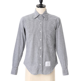 THOM BROWNE - STRAIGHT FIT SHIRTS IN BLACK