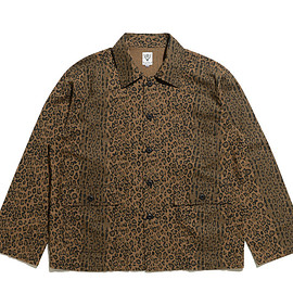 South2 West8 - Hunting Shirt-Flannel Pt.-Leopard