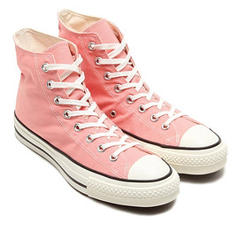 CONVERSE - CANVAS ALL STAR J HI「MADE IN JAPAN」PINK