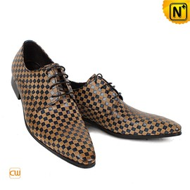 CWMALLS - Mens Italian Leather Wedding Dress Shoes CW762080