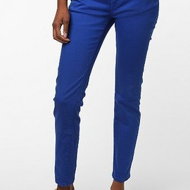 URBAN OUTFITTERS - BDG Ankle Cigarette Jean - Cobalt Blue