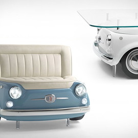 Fiat 500 Furniture - Decorating Ideas