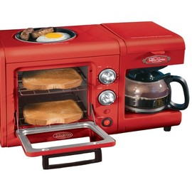 Nostalgia Electrics - BSET100CR 3 in 1 Breakfast Station