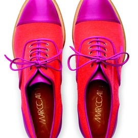Marc Cain - Color block oxfords