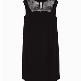 mame - Leaver Lace I-Line Dress