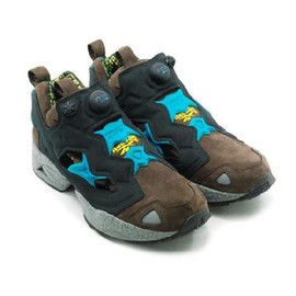 Reebok - INSTA PUMP FURY  【リーボック インスタ ポンプフューリー】 GRIZZLY BROWN/BLACK/TEAL GREEN/YELLOW