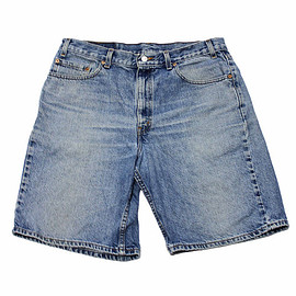 "LEVI'S - Vintage 1990s Levis 550 Jean Shorts ""Jorts"" Made in USA Mens Size 36 (Relaxed Fit)"