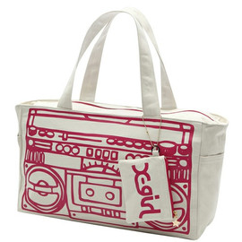 X-girl - OLD SCHOOL TOTE BAG