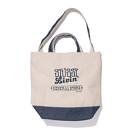 STUSSY Livin' GENERAL STORE - GS 2 Way Tote Store Ltd/Denim