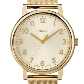 Timex - Timex® 'Easy Reader' Mesh Bracelet Watch, 38mm