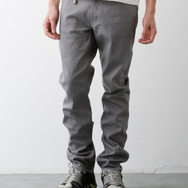 FUNDAMENTAL AGREEMENT LUXURY, FDMTL - TRACE COLOR PANTS (GRAY)