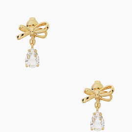 kate spade NEW YORK - TIED UP CLIP EARRINGS
