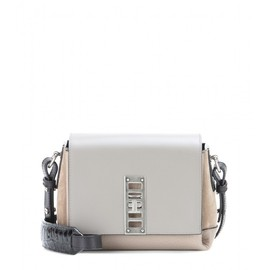 PROENZA SCHOULER - PS Mini Elliot leather and suede shoulder bag