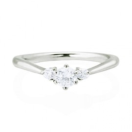 Hatae jewelry - PT900 Engagement Ring