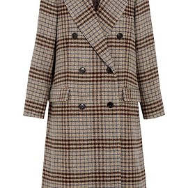 Isabel Marant - Flint double-breasted plaid wool coat