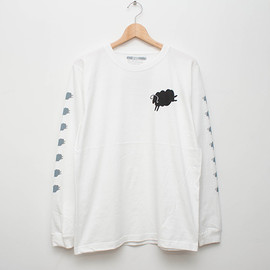 cup and cone - 7 Sheeps L/S - White