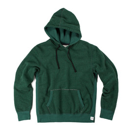 Reigning Champ - TIGER FLEECE PULLOVER HOODIE - FOREST