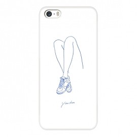 cinra - iPhone5/5Sケース「your shoes スポーツ」