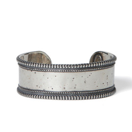 nonnative - EXPLORER BANGLE - 925 SILVER by END