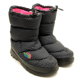 THE NORTH FACE - NUPSITE BOOTIE DOT BLACK