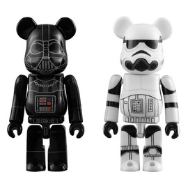 MEDICOM TOY - BE@RBRICK DARTH VADER™ & STORMTROOPER™ 2 PACK
