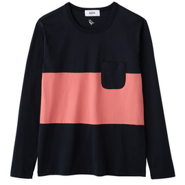 Aloye - Tricolore #8 / Long-sleeve Pocket T-Shirt